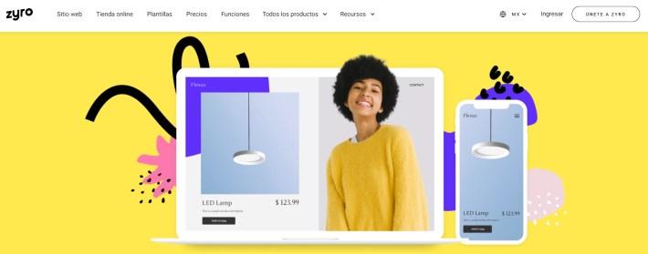 Crear sitio web facil con Zyro 1024x402 - 5 motivos para tener un emprendimiento digital