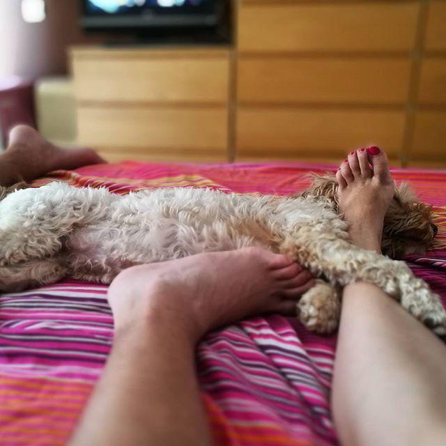 el vicio de Uma de compartir cama