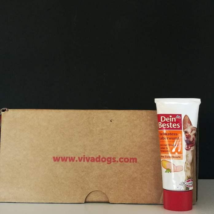 caja de suscripción para perros