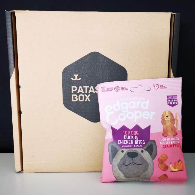caja para perros patasbox