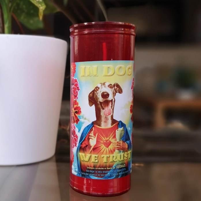 cirios solidarios de perros