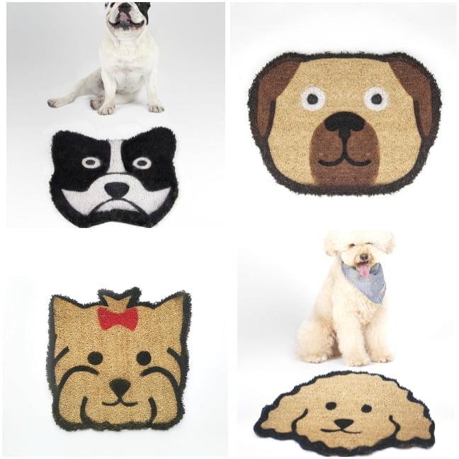 felpudos personalizados de perros