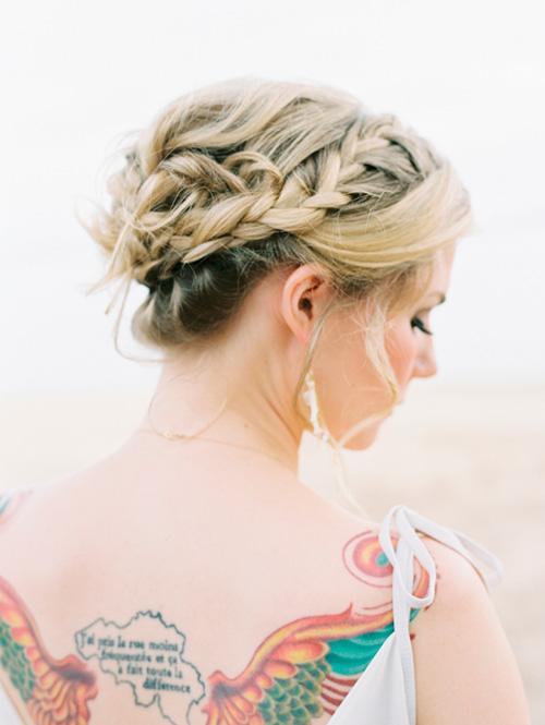 29 Peinados Recogidos Con Trenzas Encantadores El Blog