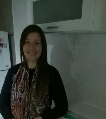 Karina Luberriaga es una trabajadora social argentina