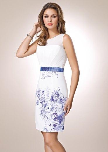 vestidos con fondo blanco