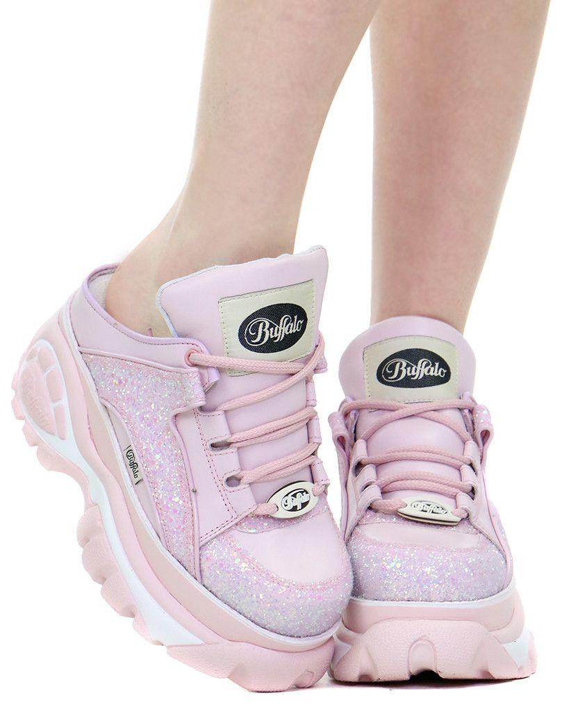 Sneaker Buffalo en color rosa