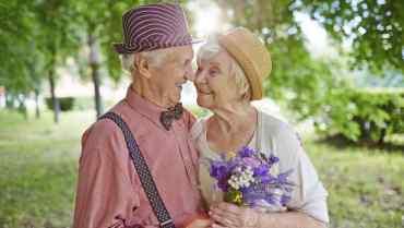 pareja de muchos años