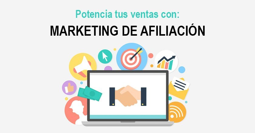 Potencia tus ventas con marketing de afiliación