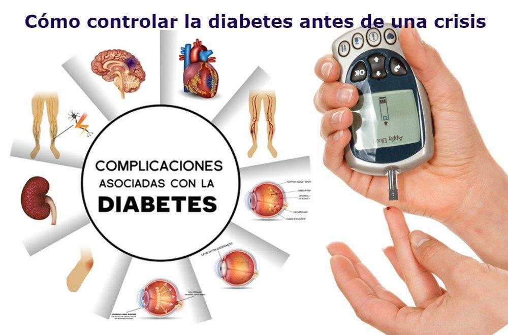 complicaciones con la diabetes