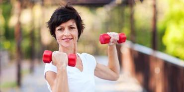hacer ejercicios en la edad madura