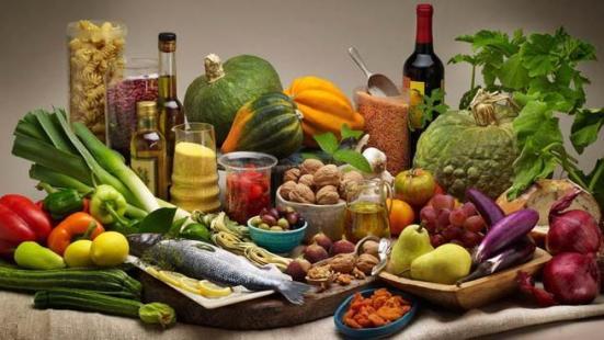 Comer para un yogu: dieta mediterránea