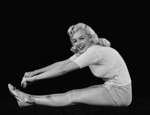 Marilyn Monroe también pertenece al mundo del yoga