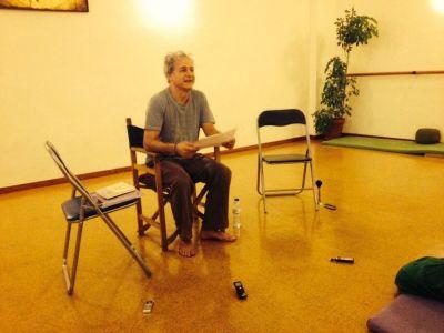 Juan Carlos Márquez hablando
