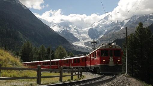NDR LMA <br> Vom Schnee bis zu den Palmen. Mit dem Zug durch Graubünden.