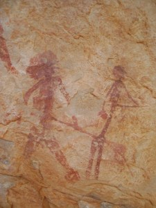 Cova dels Rossegadors tinença de benifassà pinturas rupestres