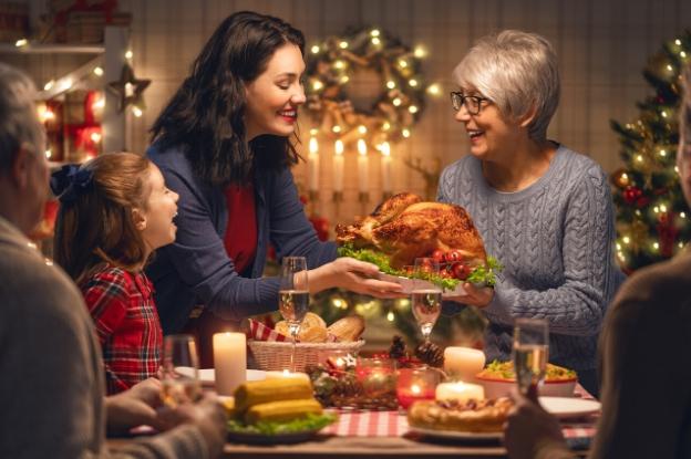 En Navidades es difícil mantener el peso con las numerosas comidas navideñas