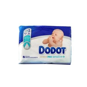 Estos pañales disponen de la máxima protección de la piel que proporciona Dodot