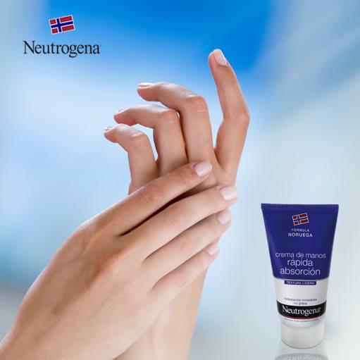 La crema de manos Neutrogena hidrata en profundidad y recupera un tacto suave y aterciopelado en la piel