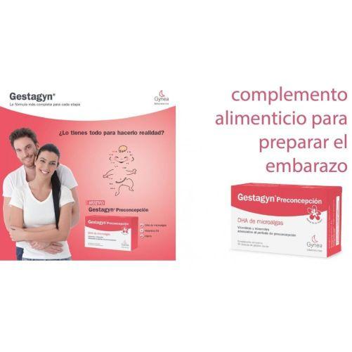 Gestagyn es específico para la suplementación de la mujer en la etapa pre-concepcional y gestacional
