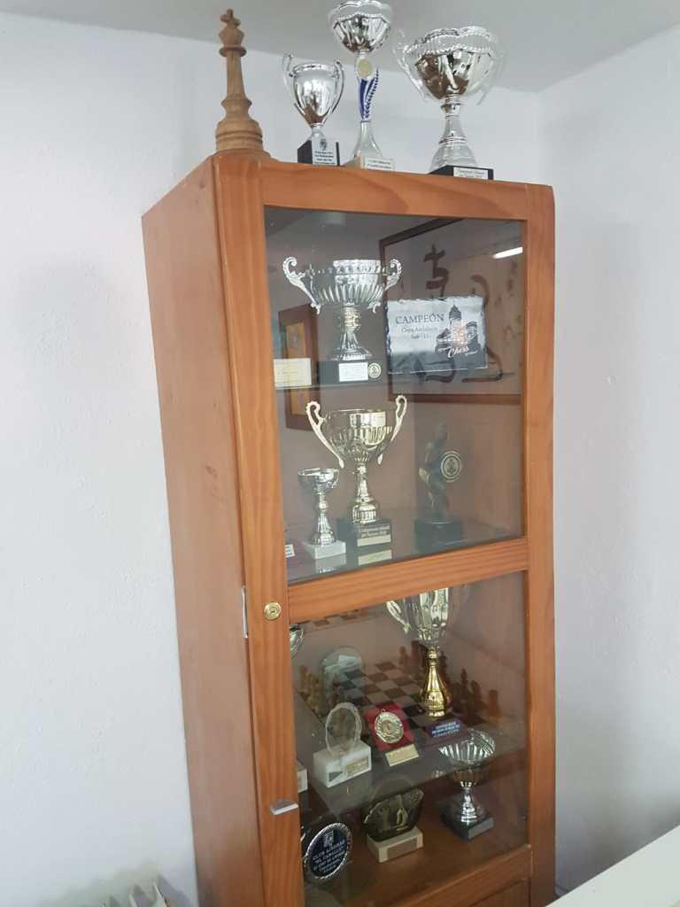 Trofeos ganados por el Club El Caballo.