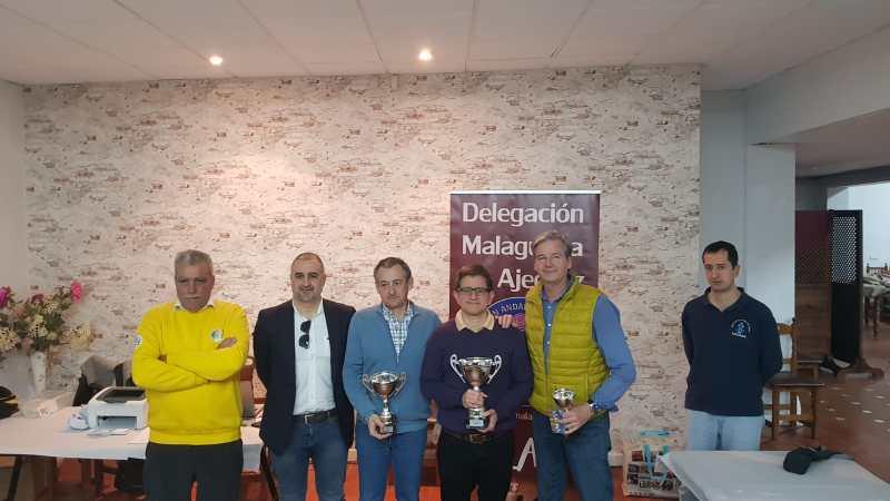 Vencedores del 18 Campeonato de ajedrez relámpago de Málaga