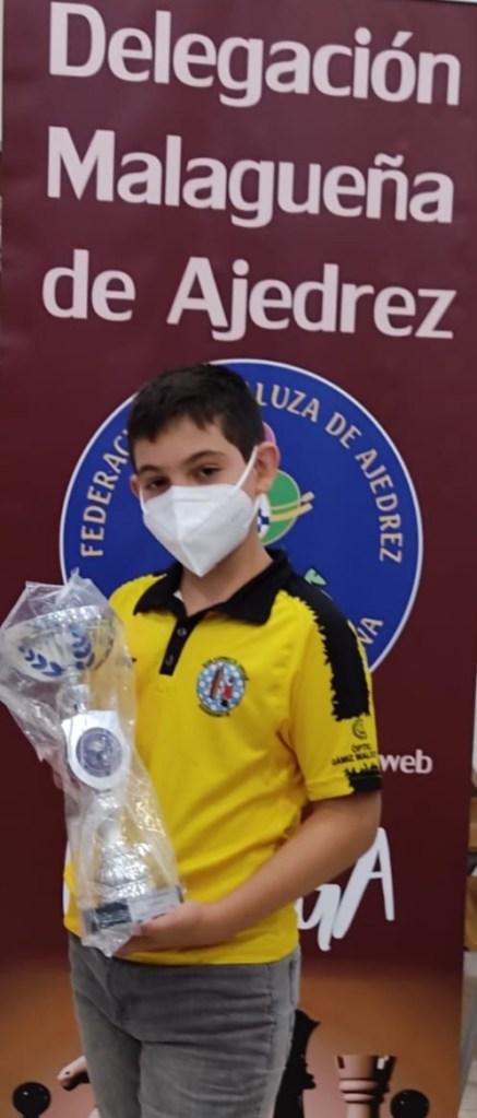 Subcampeonato de Samuel Sánchez en el I Campeonato de Málaga sub1500
