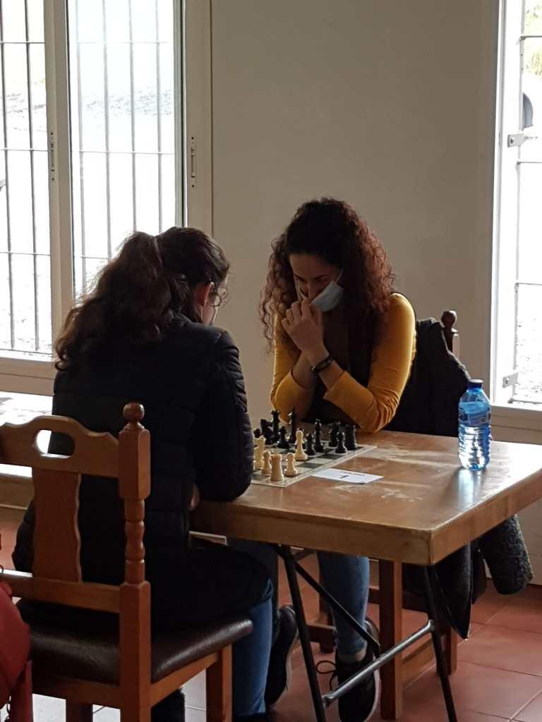 Ganadoras del III Open Femenino de Ajedrez