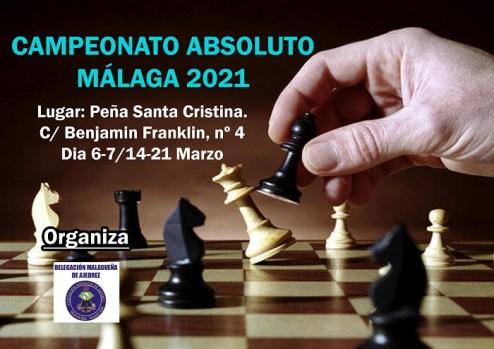 ¡Empieza el Campeonato de Málaga absoluto de ajedrez!