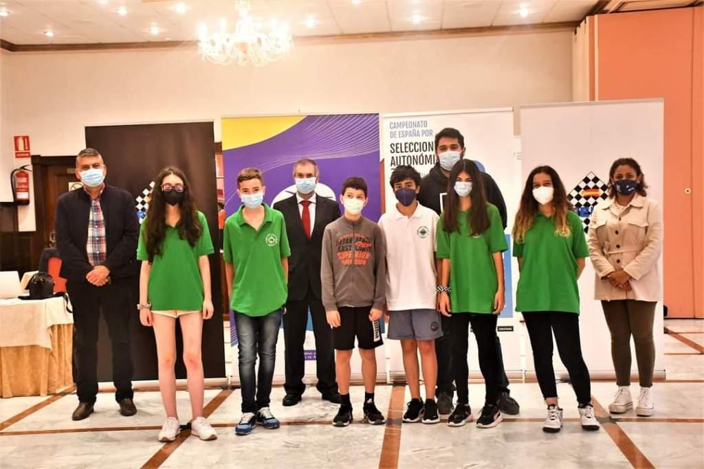 Andalucía, tercera en el campeonato infantil de España