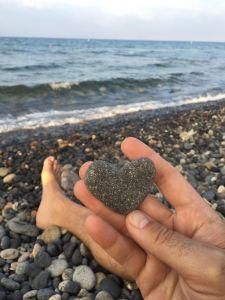 Piedra de amor en Las Negras
