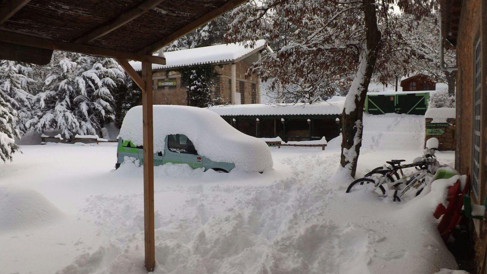Las menas - Seron nevado
