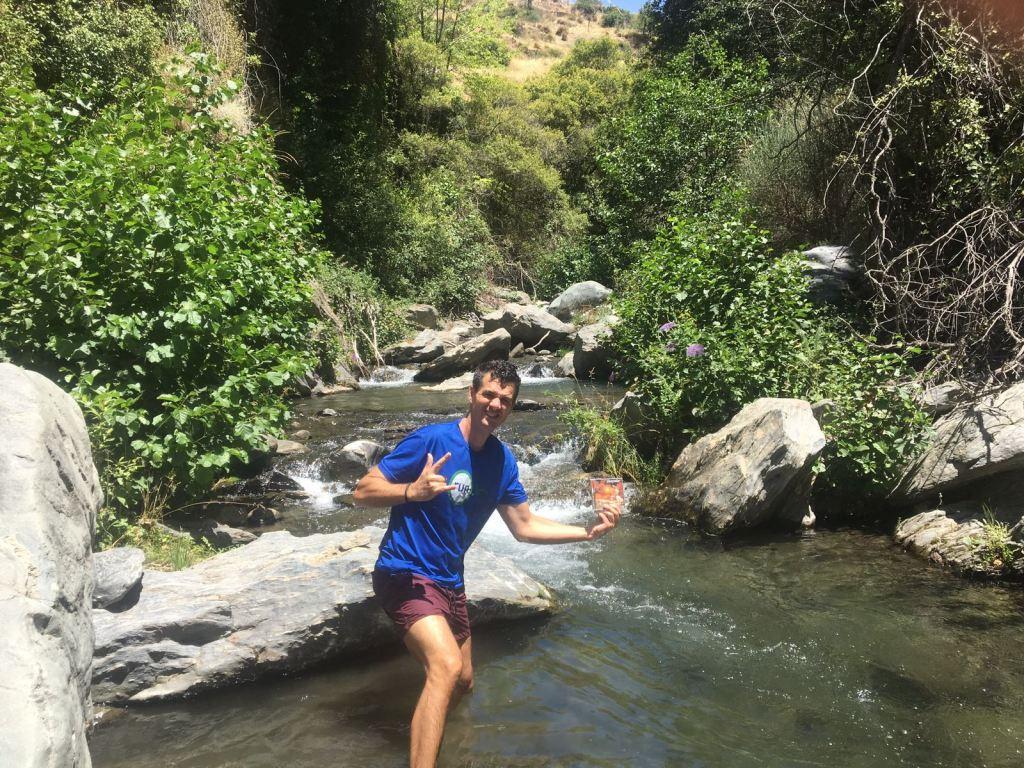 En el rio Poqueira - Capileira