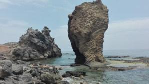 Piedra de la Playa del Sombrerico - Mojacar