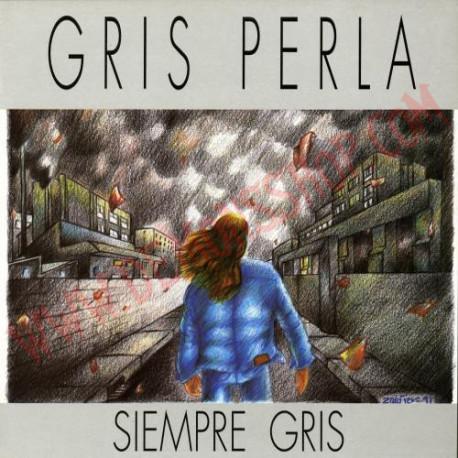 Caratula de cd de Gris Perla