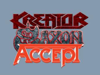 Saxon Accept Kreator 2017