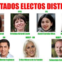 Diputados electos en el distrito 9 - Quinta Normal