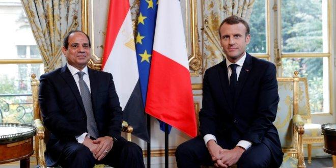 الرئيس الفرنسي ماكرو في زيارة رسمية إلى القاهرة