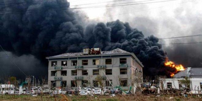 عاجلا .. 47 قتيلاً جراء انفجار في مصنع للكيماويات شرق الصين