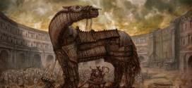 قصة حصان طروادة (Trojan horse)