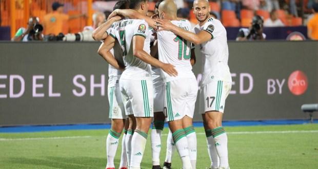 الجزائر 2  نيجيريا 1   تأهل الخضر للنهائي كأس امم افريقيا
