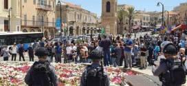 احتجاجات في يافا على هدم مقبرة إسلامية عمرها 200 سنة لبناء مستوطنة