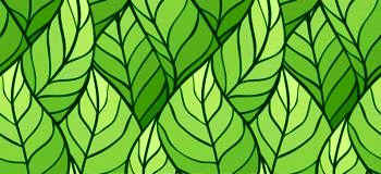 13927639-illustration-of-leaves–seamless-stylish-pattern
