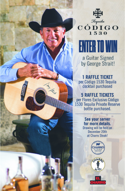 Win Guitar Signed by George Strait