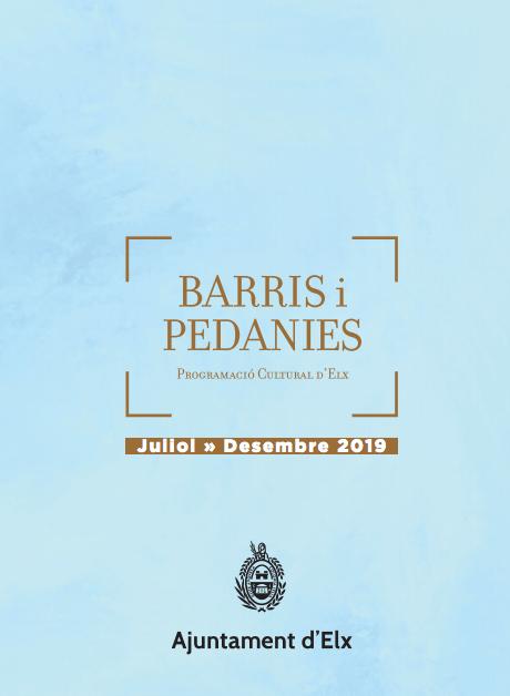 BARRIS I PEDANIES