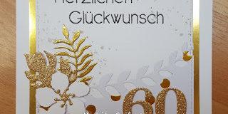 Crafting Karte Zum 60 Geburtstag Meiner Mama Elchi S World Of