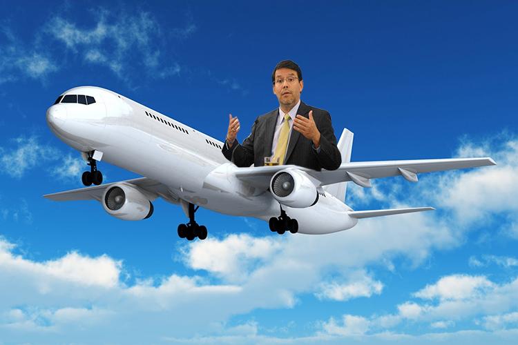 El avión anticíclico de Arenas