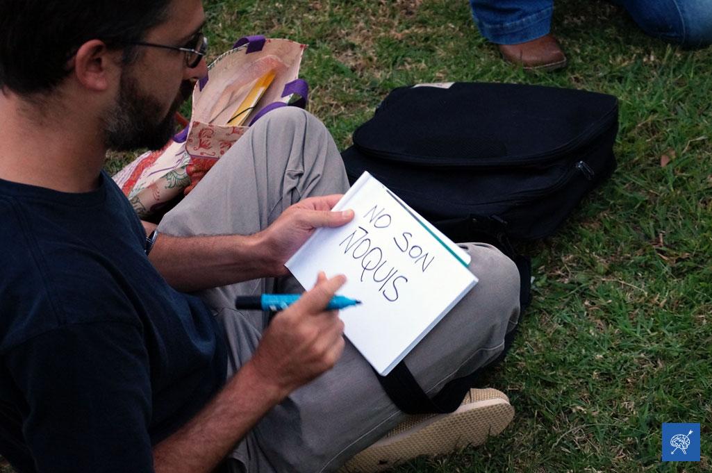 #FotoReportaje: No a los 240 despidos en la Biblioteca Nacional