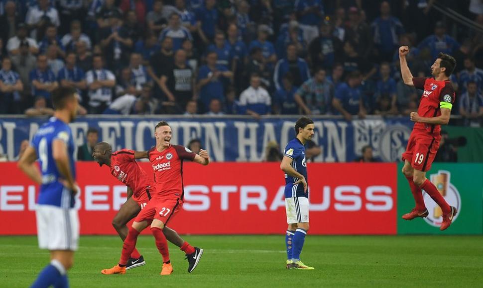 Eintracht será el rival de Bayern en la final de Copa de Alemania (fotos)