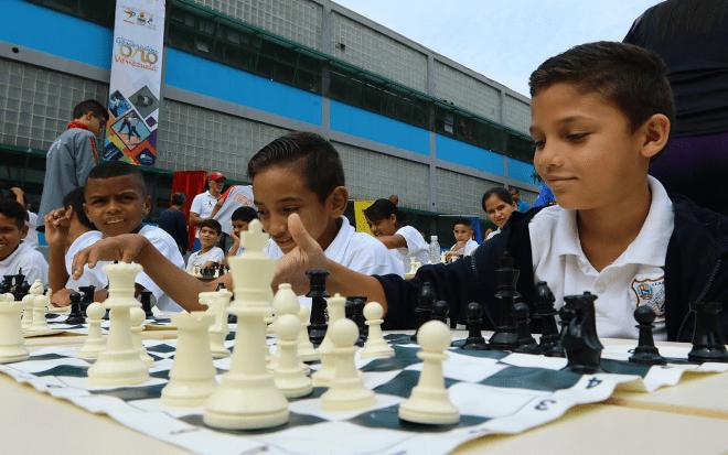 Venezuela celebró el Día Nacional del ajedrez Escolar