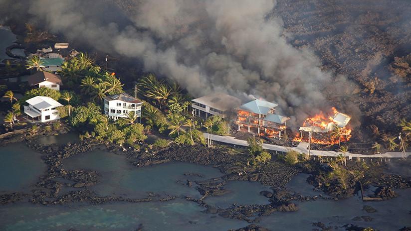 ¡Terror! Volcán Kilauea destruye la isla sin piedad (+Videos)